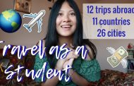 HOW TO TRAVEL AS A STUDENT | viola helen